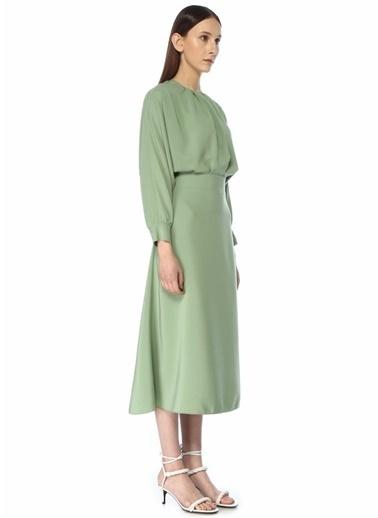 Victoria Victoria Beckham Elbise Yeşil